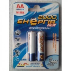 Акумулятор R-6 2000 mAh Енергія