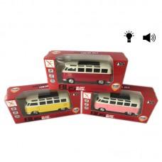 Автобус металевий в коробці 18х10см XL80116L