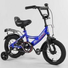 "Велосипед 12"" 2-х кол.""CORSO-CL12617""(1) син, ручн.гальмо"