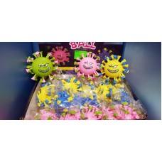 """Іграшка гумова """"Вірус"""" світиться /MT00030/"""