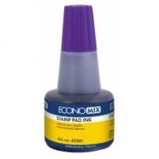 """Штемпельна фарба """"Економікс-42201-12"""" фіолетова 30мл."""