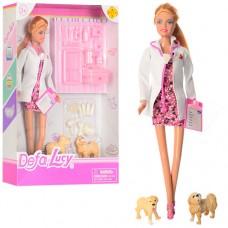"""Кукла """"DEFA""""Доктор"""" в кор.33х23см 8346A"""