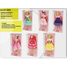 "Кукла типа ""Барби"" в кор.35х16см 2063"