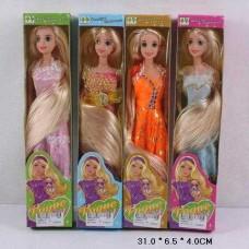 """Кукла типа """"Барби""""Рапунцель""""в кор.31х7см СQS6011"""
