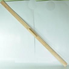 Лінійка 1метр дерев.з ручкою