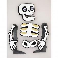 "Набор стикеров для Хеллоуина ""Скелет-973528"""