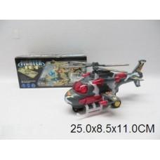 Вертолет батар.,муз,свет,в кор.24х11см 3317