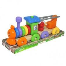"""Іграшка розвиваюча """"Funny train"""" 23 ел., 39771"""