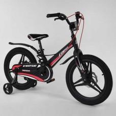 """Велосипед 18"""" 2-х кол.""""CORSO-MG18703""""(1) чорн.,магн.рама, діск.гальмо"""